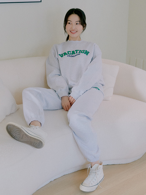 [SET]Vacation Sweatshirt+Vacation Jogger Sweatpants